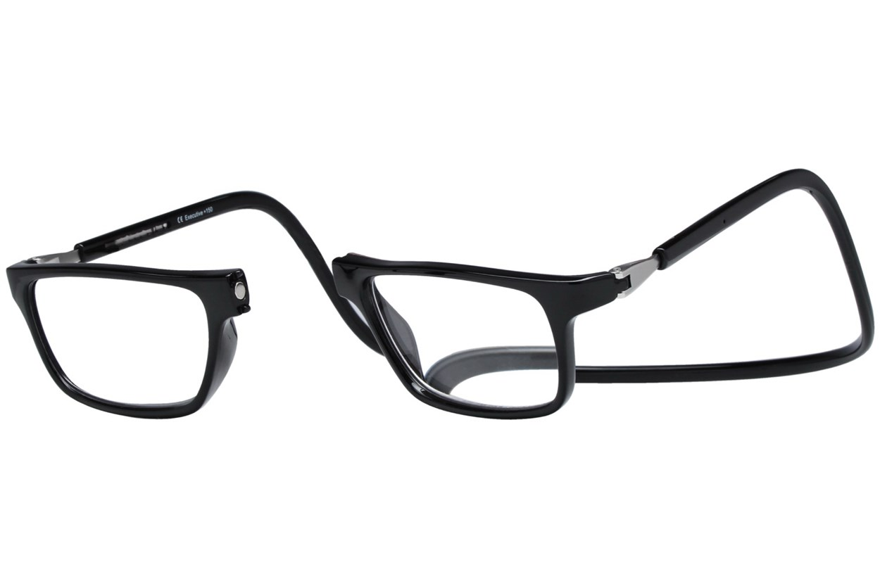 Alternate Image 1 - Clic-Optical Executive ReadingGlasses - Black