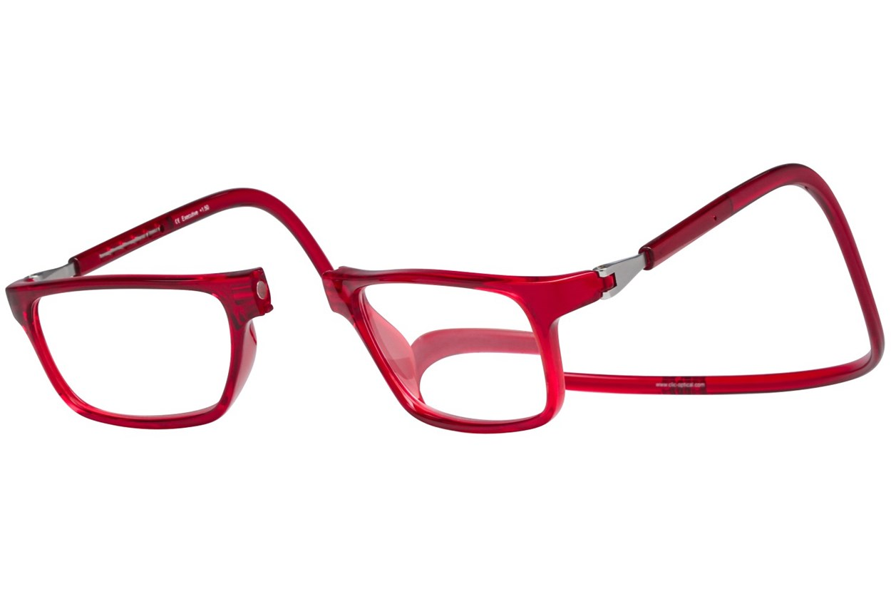 Alternate Image 1 - Clic-Optical Executive Red
