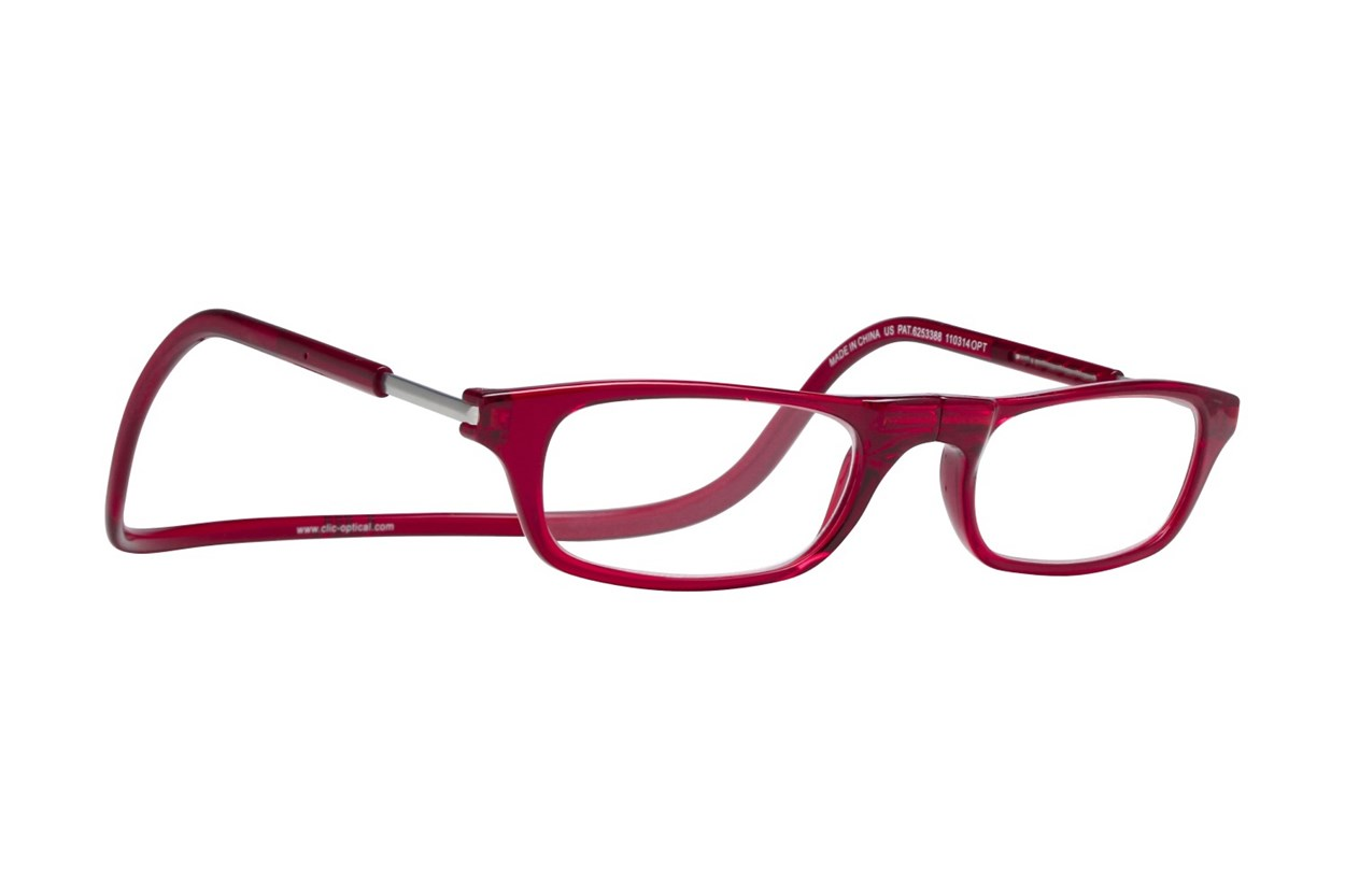 Clic-Optical Original Red ReadingGlasses