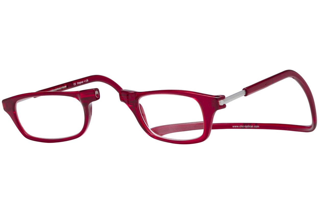 Alternate Image 1 - Clic-Optical Original Red ReadingGlasses