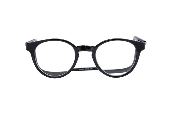 Clic-Optical Vintage XXL ReadingGlasses - Black