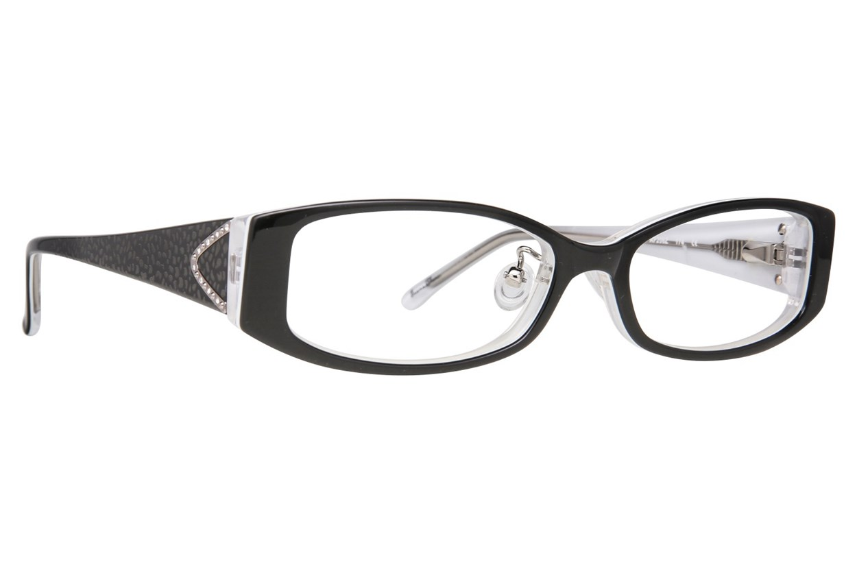 Red Lotus AF 206Z Eyeglasses - Black