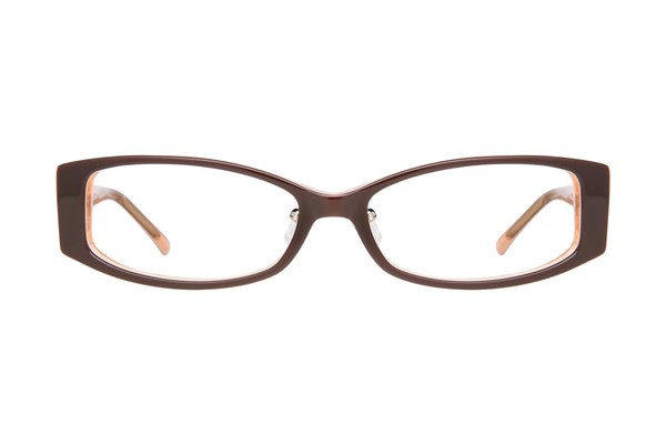 Red Lotus AF 206Z Eyeglasses - Brown