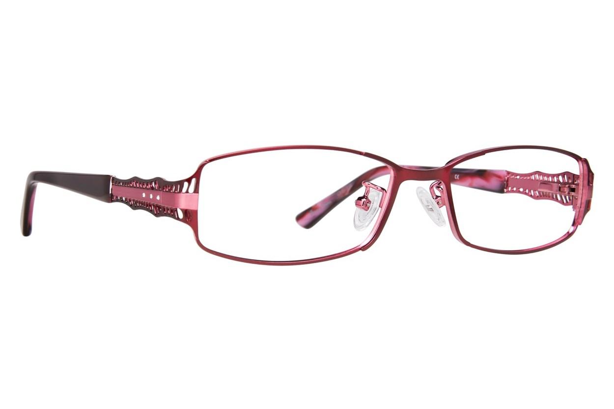 Red Lotus AF 210M Red Eyeglasses