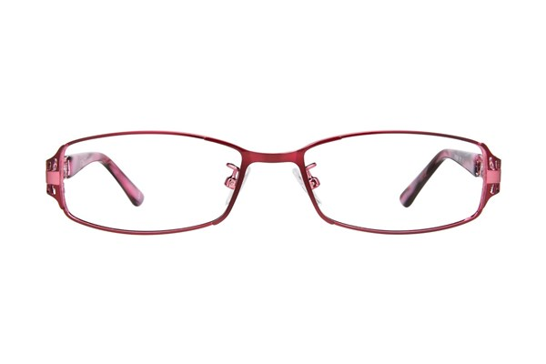 Red Lotus AF 210M Eyeglasses - Red