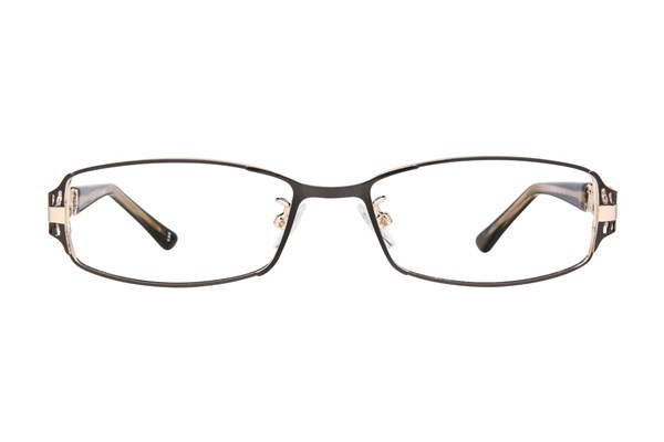 Red Lotus AF 210M Eyeglasses - Black