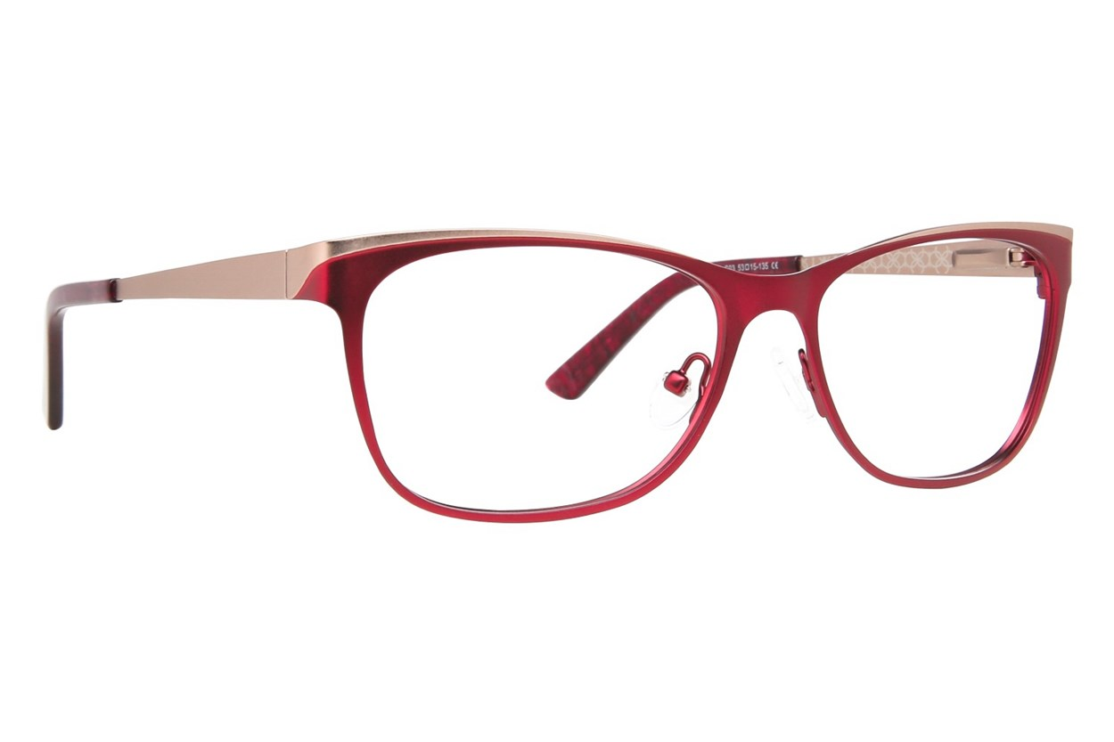 Ann Taylor AT101 Red Eyeglasses
