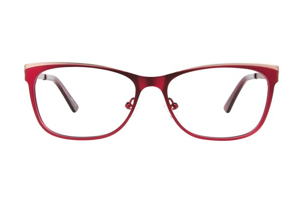 Ann Taylor AT101 Eyeglasses - Red