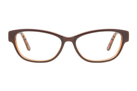 Ann Taylor AT300 Brown Eyeglasses