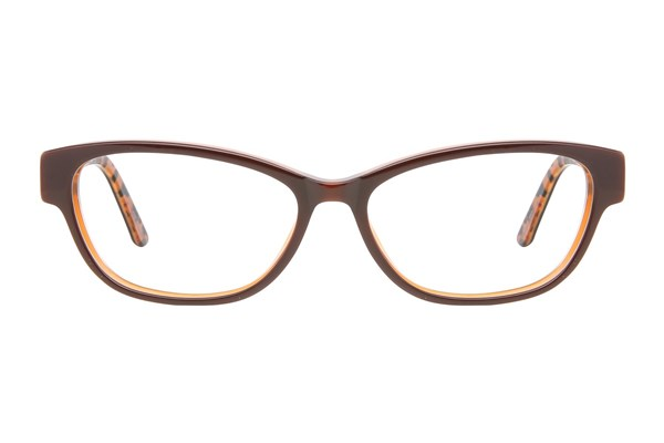 Ann Taylor AT300 Brown Eyeglasses