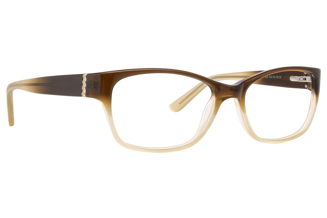 Ann Taylor AT301 Eyeglasses - Tan