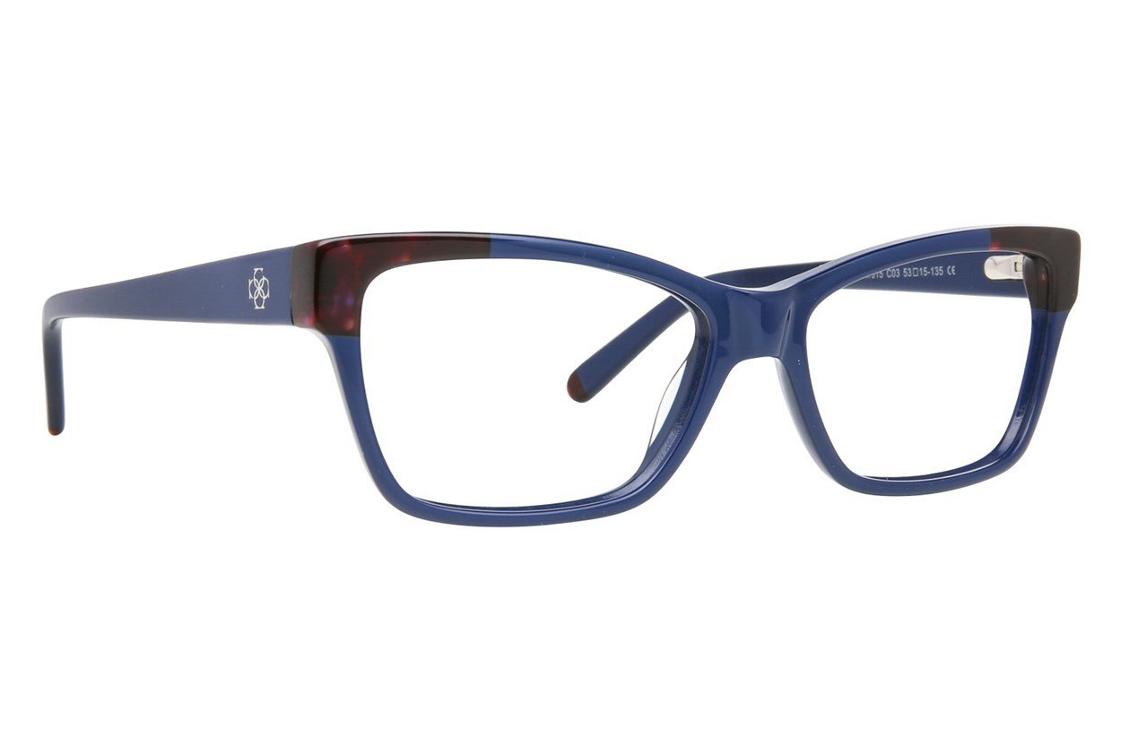 Ann Taylor AT315 Eyeglasses - Blue