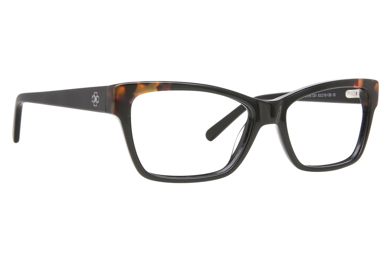 Ann Taylor AT315 Black Eyeglasses