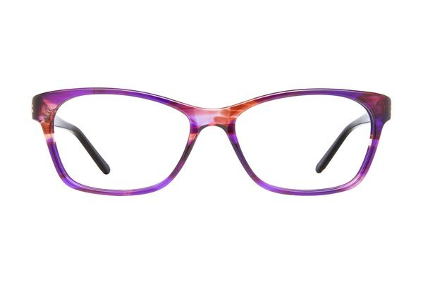 Nicole Miller Balanchine Purple Eyeglasses