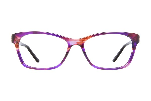 Nicole Miller Balanchine Eyeglasses - Purple