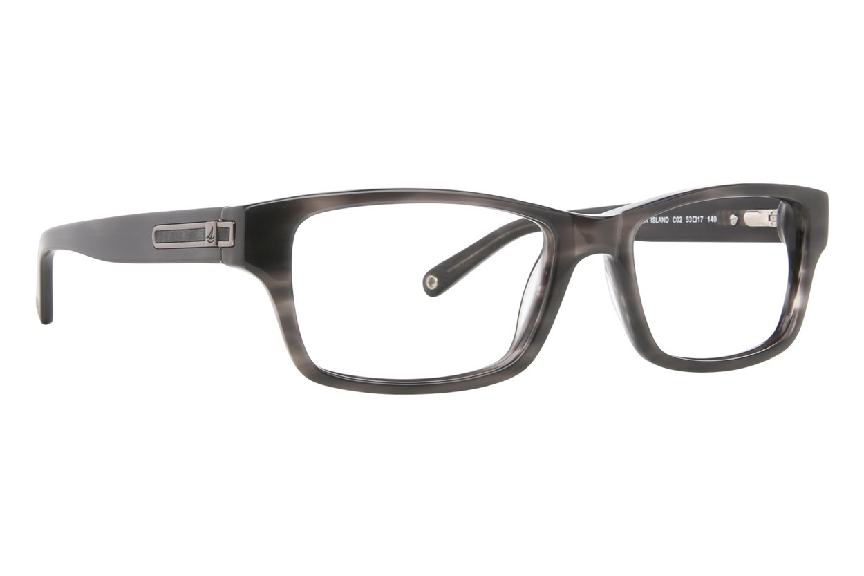 Sperry Top-Sider Block Island Gray Eyeglasses