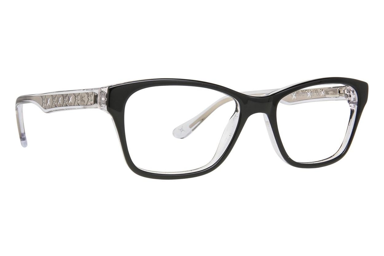 Nicole Miller Broadway Black Eyeglasses