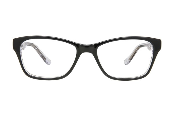 Nicole Miller Broadway Eyeglasses - Black