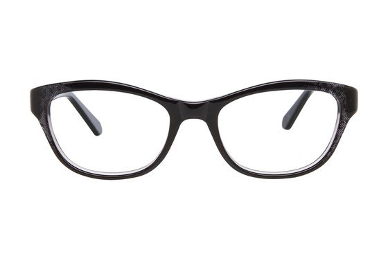 Nicole Miller Cabrini Black Eyeglasses