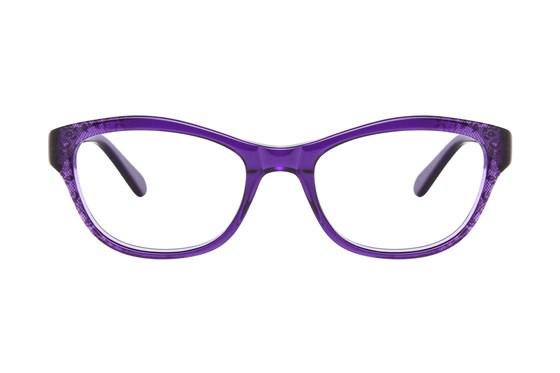 Nicole Miller Cabrini Purple Eyeglasses