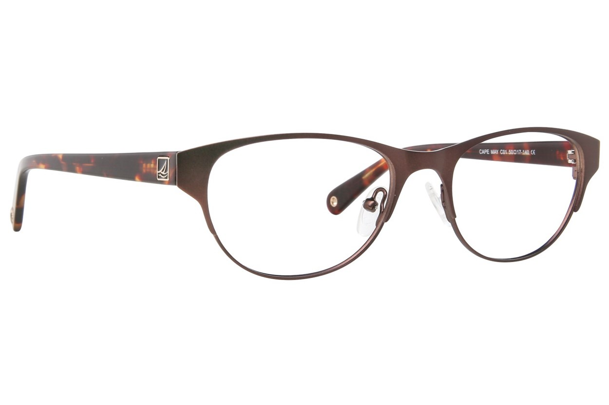 Sperry Top-Sider Cape May Brown Eyeglasses
