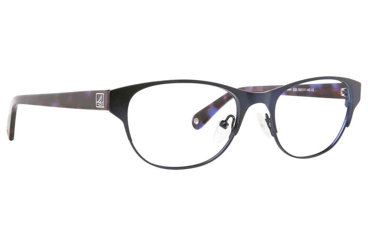 Sperry Top-Sider Cape May Blue Eyeglasses