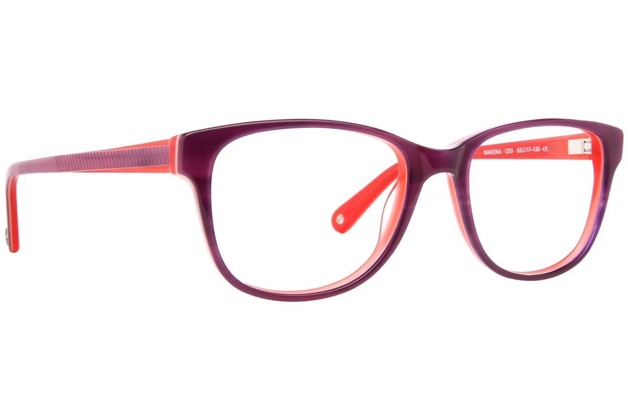 Sperry Top-Sider Makena Purple Eyeglasses