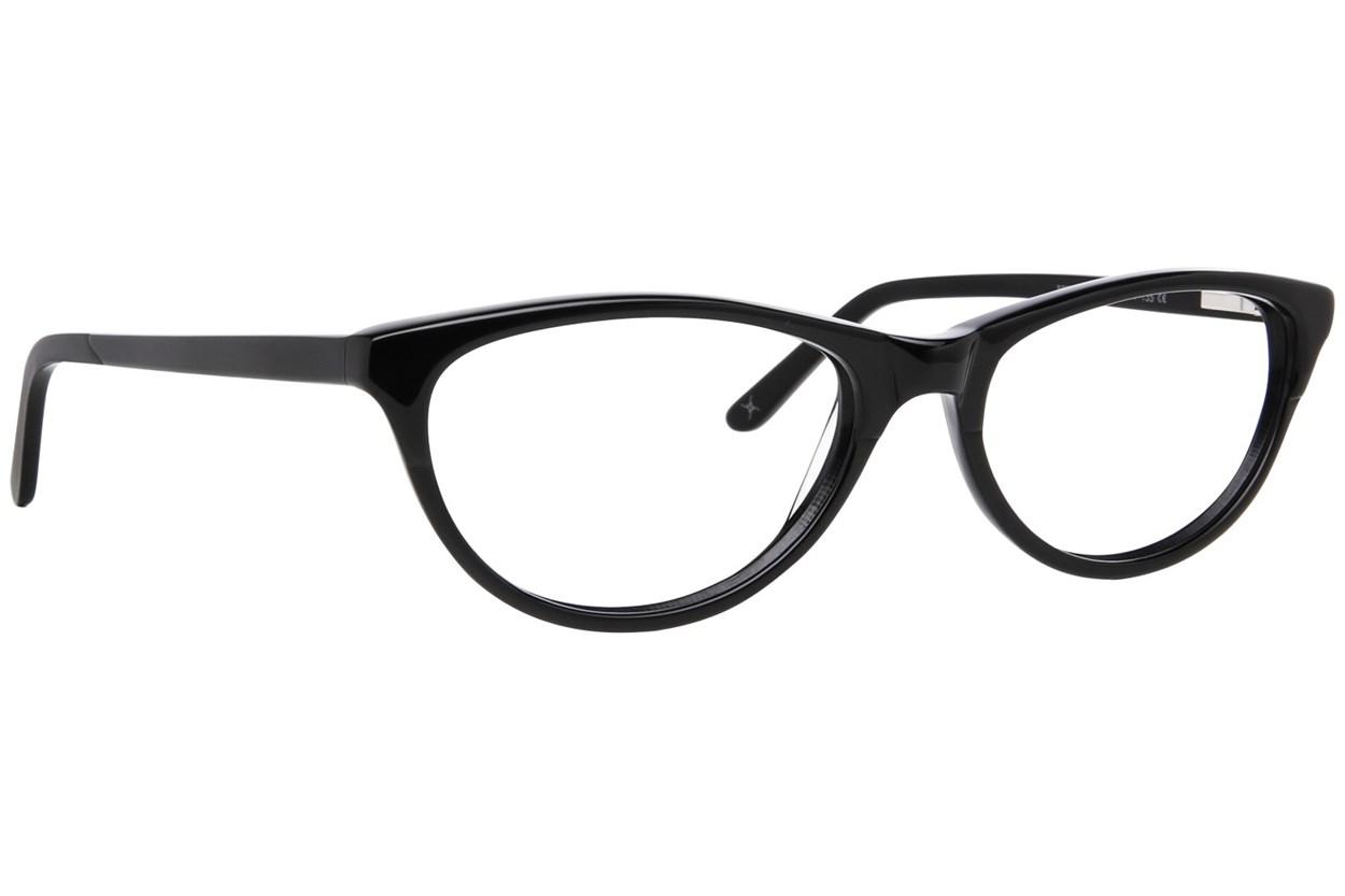 Nicole Miller Bedford Black Eyeglasses