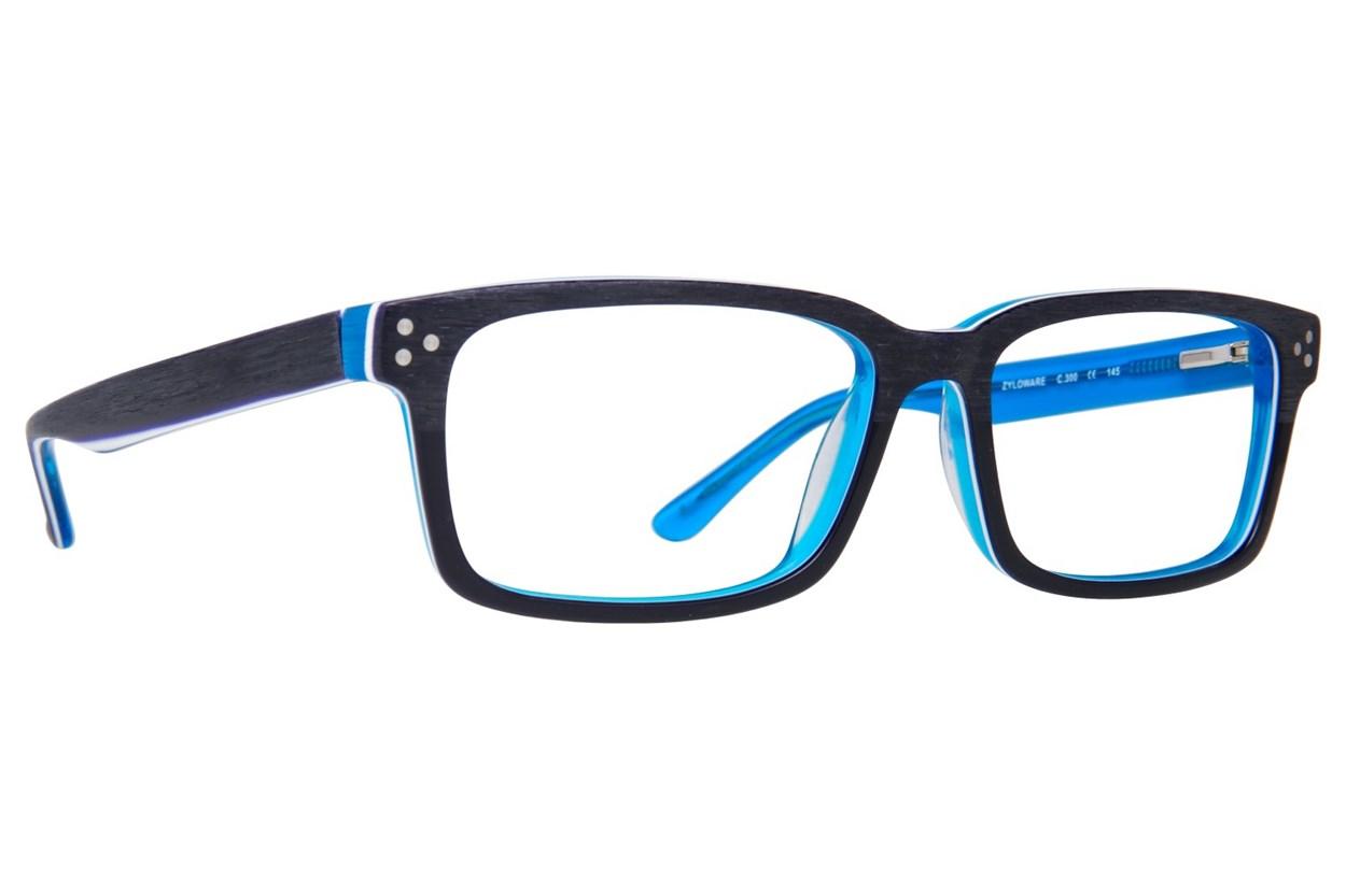 Randy Jackson RJ 3028 Blue Eyeglasses