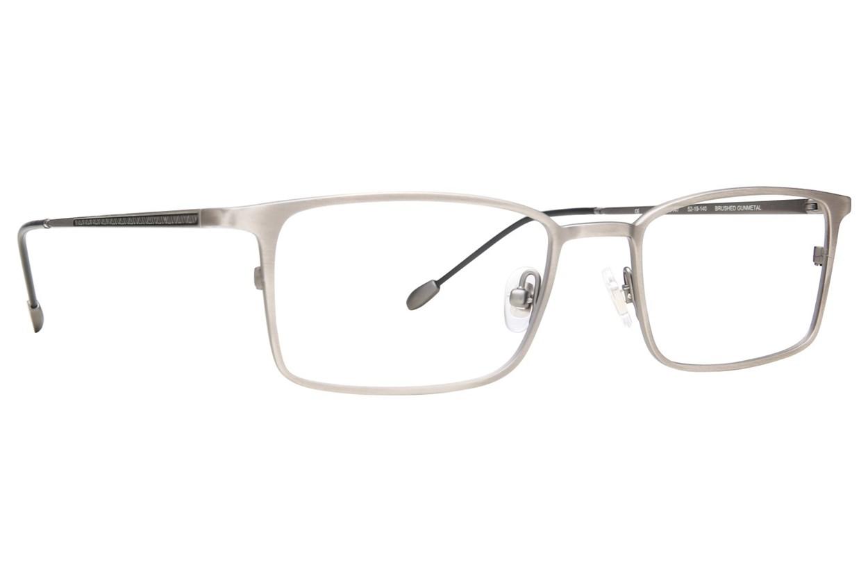 John Varvatos V147 Silver Eyeglasses