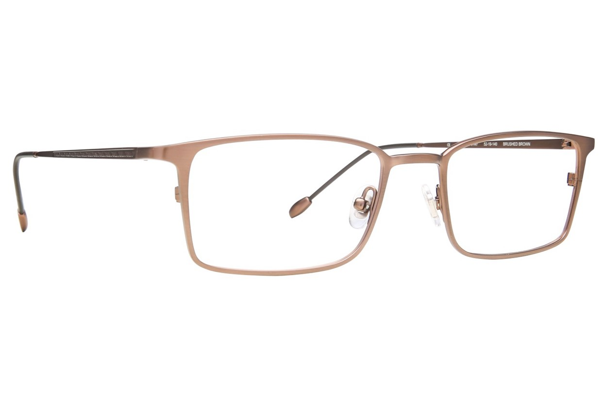 John Varvatos V147 Eyeglasses - Brown