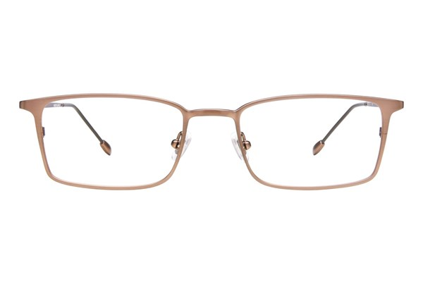 John Varvatos V147 Brown Eyeglasses