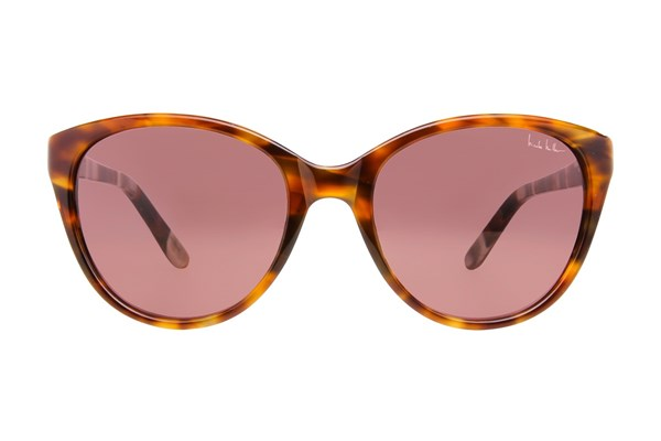 Nicole Miller King Sunglasses - Brown