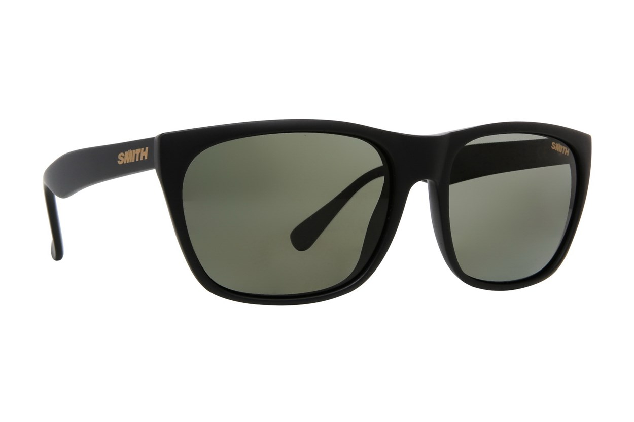 Smith Optics Tioga Polarized Black Sunglasses