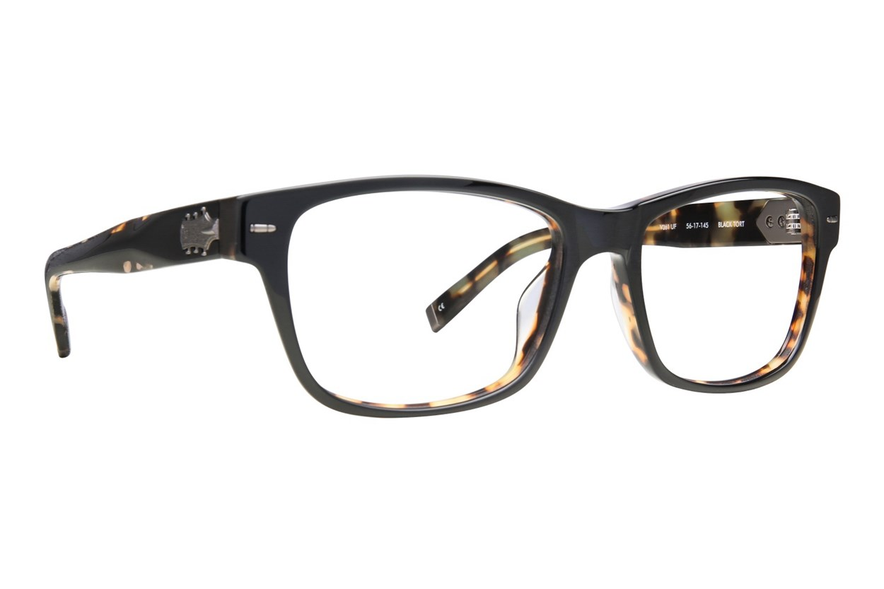 John Varvatos V361 Eyeglasses - Black