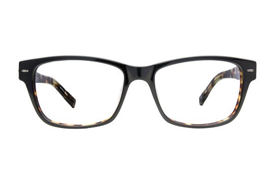 John Varvatos V361 Black Eyeglasses
