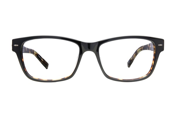 John Varvatos V361 Black Eyeglasses