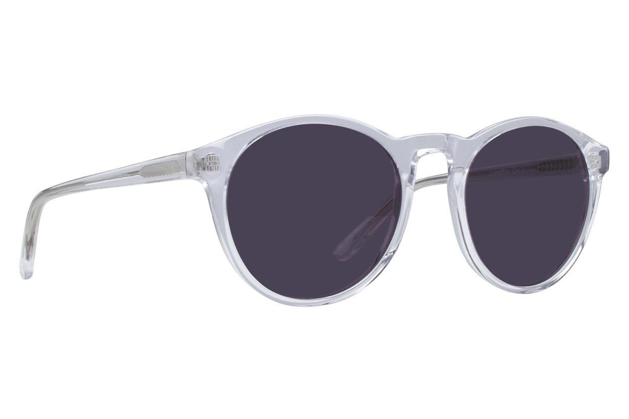 Lunettos Casey Clear Sunglasses