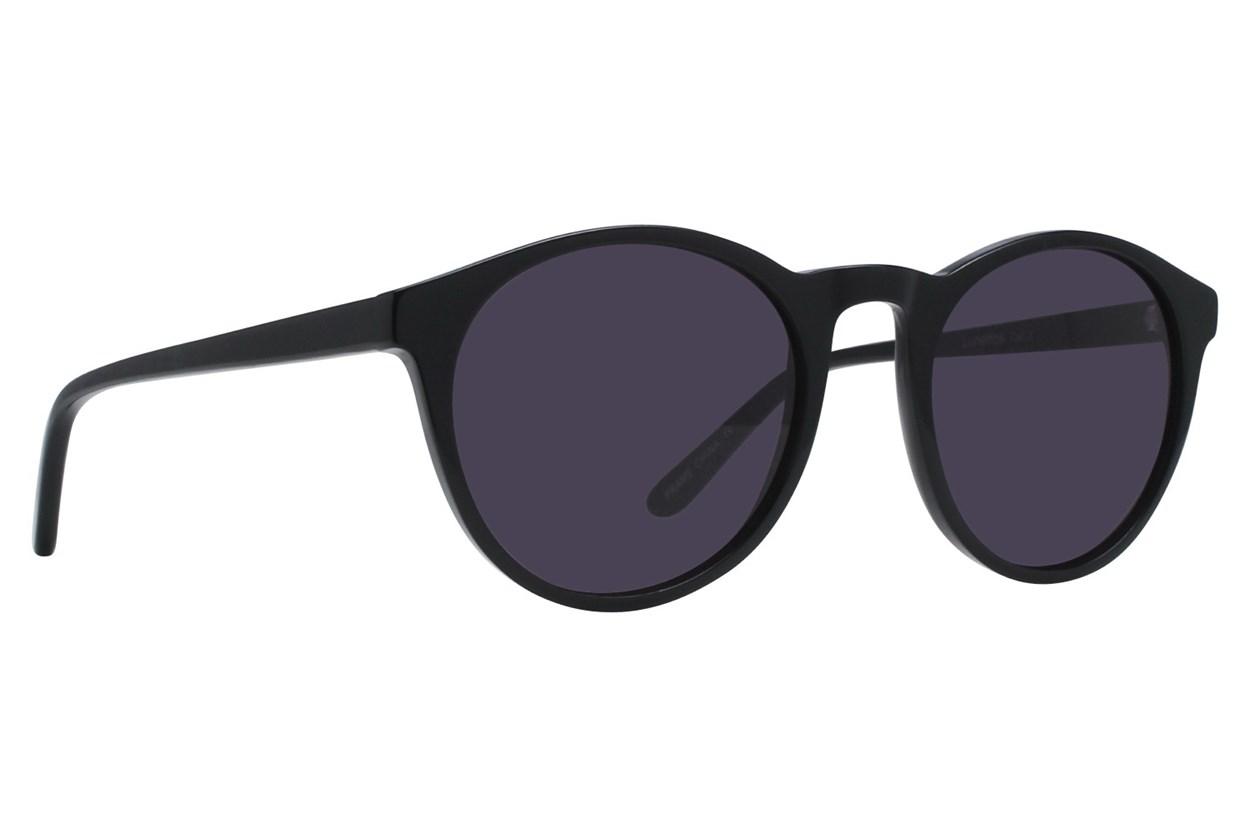 Lunettos Casey Black Sunglasses