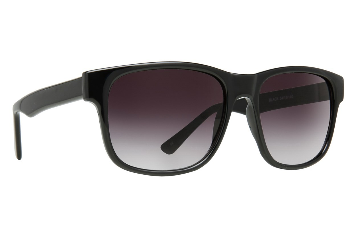 Lunettos London Black Sunglasses