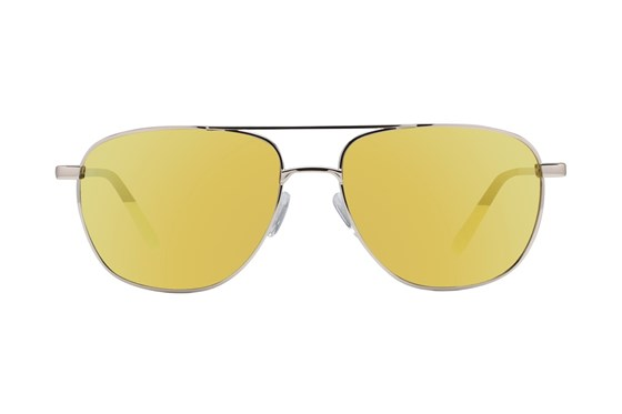 Lunettos Stanley Gold Sunglasses