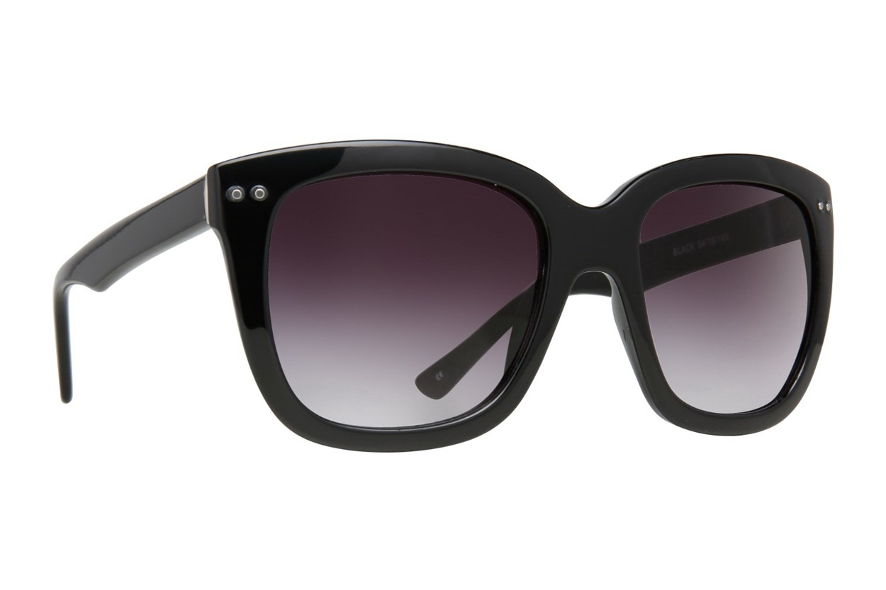 Lunettos Rose Black Sunglasses