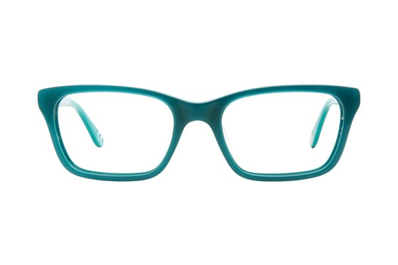 Corinne McCormack Park Ave Turquoise Eyeglasses