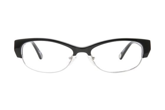 Corinne McCormack Delancey Black Eyeglasses