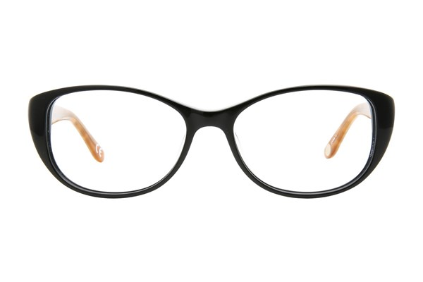 Corinne McCormack Madison Ave Eyeglasses - Black