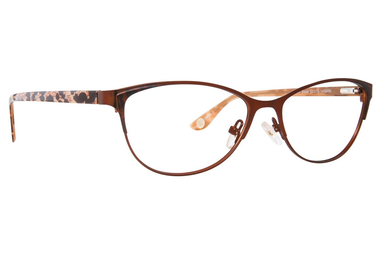 Corinne McCormack Park Slope Eyeglasses - Brown