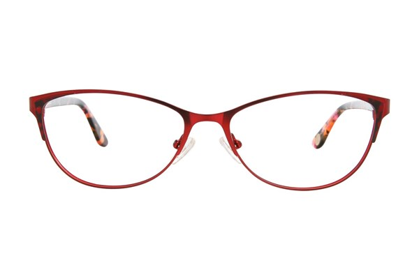 Corinne McCormack Park Slope Red Eyeglasses