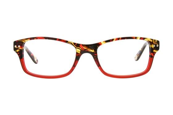 Corinne McCormack Rivington Red Eyeglasses