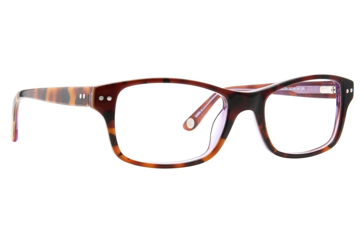 Corinne McCormack Rivington Purple Eyeglasses