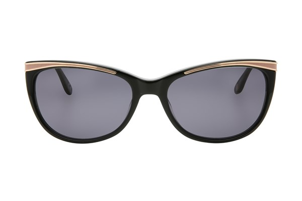 Corinne McCormack Brighton Beach Sunglasses - Black